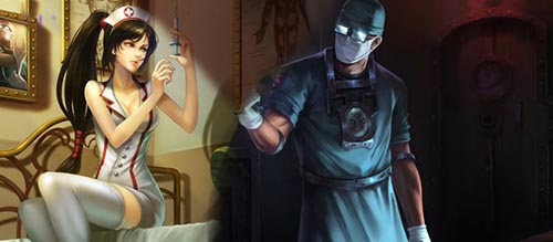 神秘医生与暴力护士