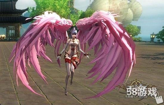 侧面yuyi翅膀素材