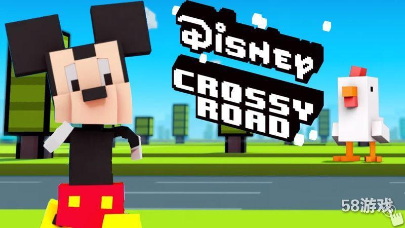 此前58游戏曾报道过,迪士尼与游戏开发商 Hipster Whale 展开合作,推出一款《天天过马路》的特别联动休闲游戏《迪士尼天天过马路 Disney Crossy Road》。如今游戏也正式与玩家见面了,下面来通过游戏视频了解一下本作的特色吧。   游戏整体玩法和《天天过马路》相比并没有特别不同的地方,依旧是控制角色穿梭在车辆繁多的道路上,而操作方面也沿用之前的操作,玩过《天天过马路》的玩家能够轻松上手本作。当然游戏最特别的就是里面的角色和场景都换成了迪士尼的电影作品,比如之前大热的《超能陆战队》