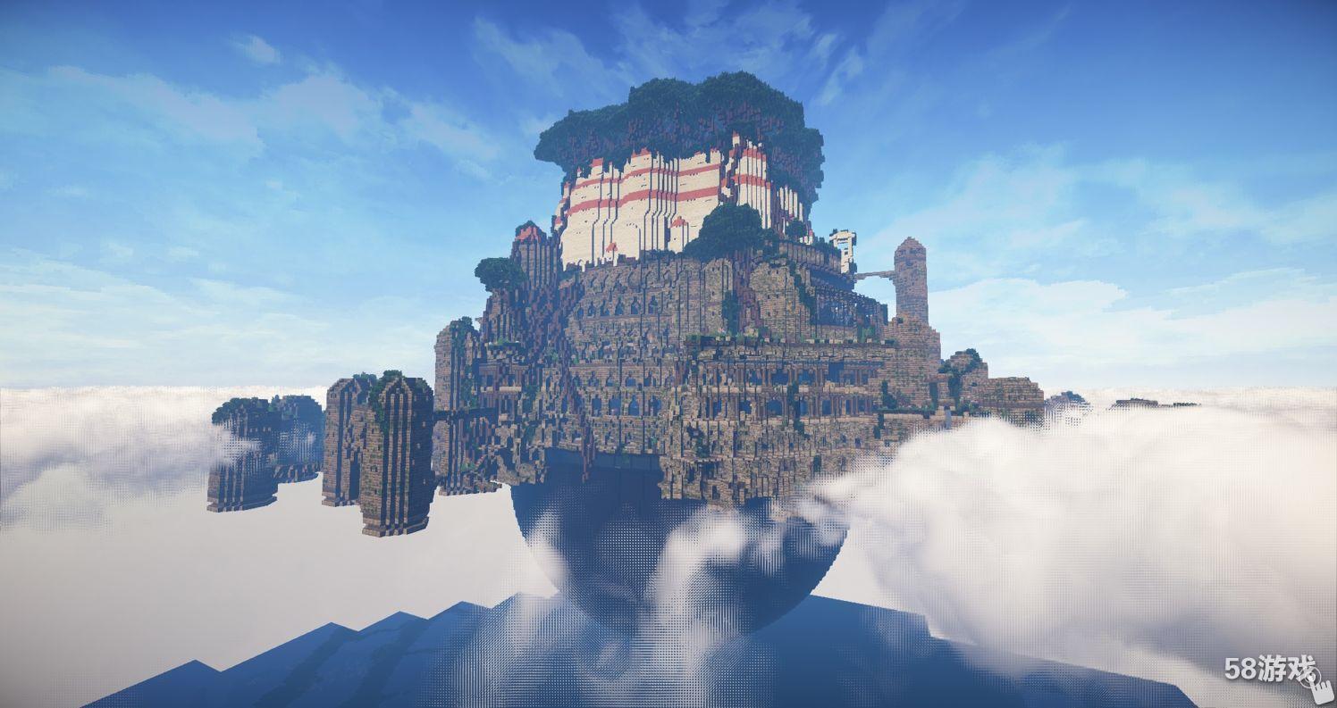 《我的世界》大神作品赏析:天空之城