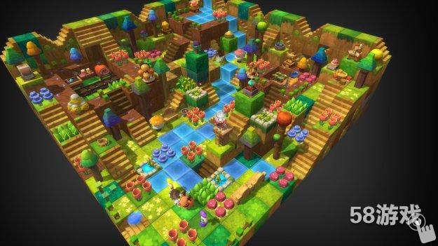 冒险岛2森林主题房屋鉴赏 方块形的伊甸园?