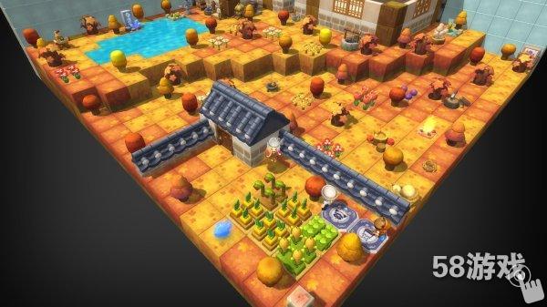 房屋鉴赏 五彩森林的枫叶谷    冒险岛2游戏里面从来不缺特别有创意的