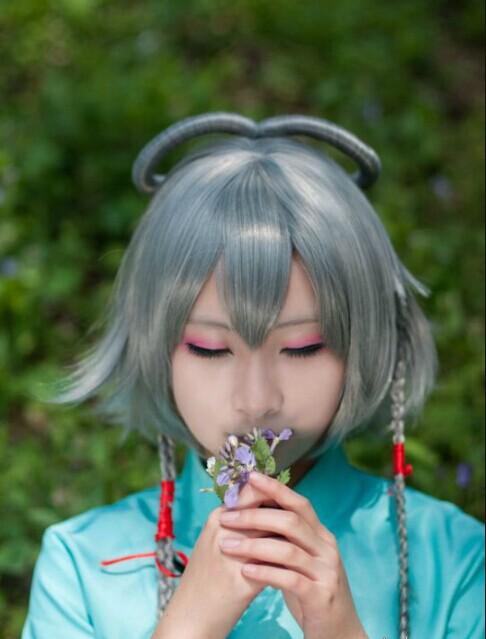 洛天依三月雨cosplay